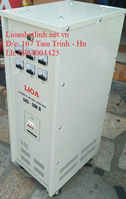 ỔN ÁP LIOA SH3 - 20K II