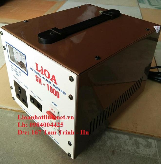 ỔN ÁP LIOA 1 PHA SH - 1000