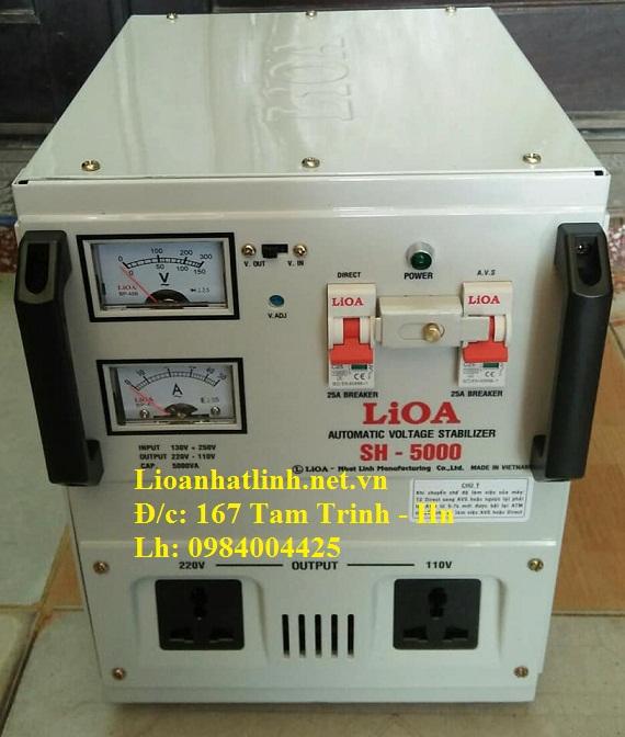 ỔN ÁP LIOA SH - 5000 II