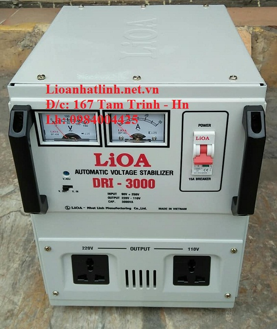 ỔN ÁP LIOA DRI - 3000 II