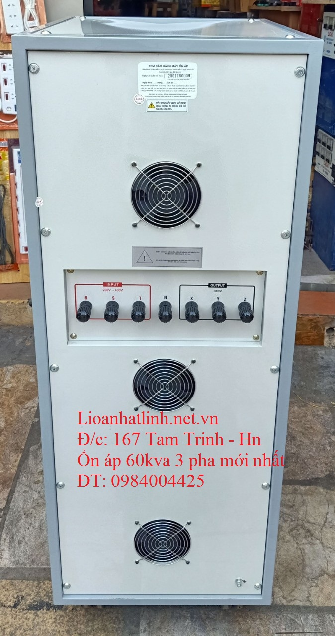 lioa 3 pha 60kva sh3 - 60k ii