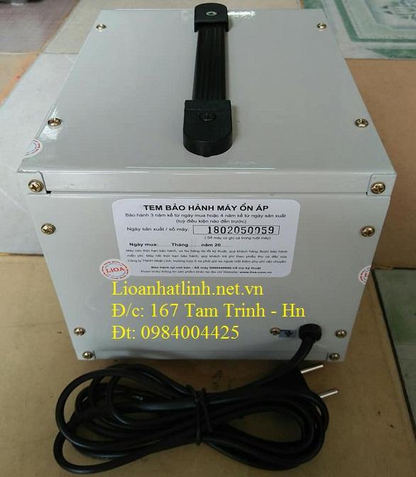 PHÍA SAU ỔN ÁP LIOA 1KVA SH - 1000 II