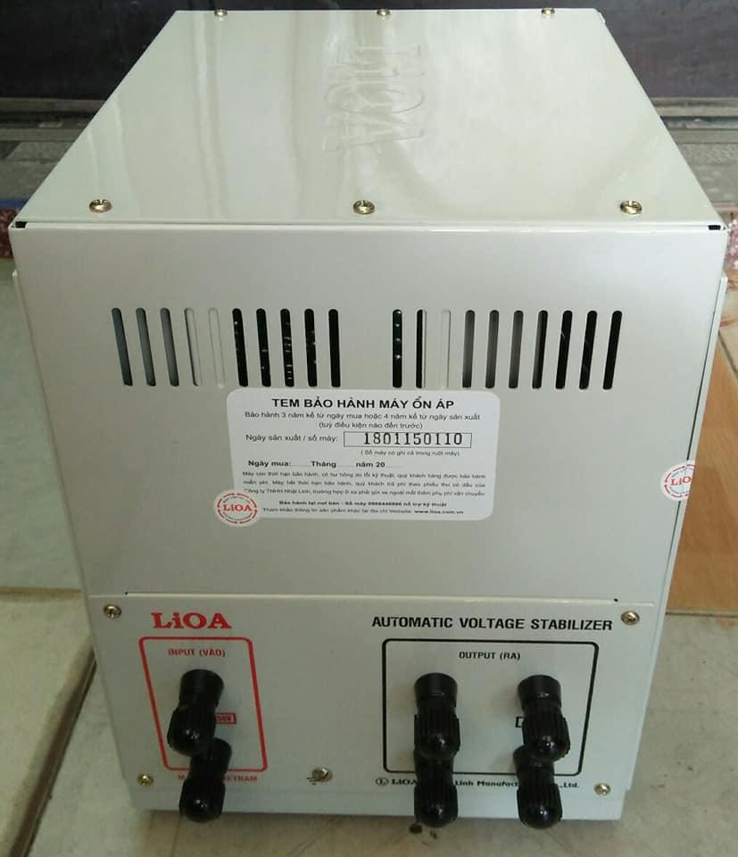 PHÍA SAU ỔN ÁP LIOA 5KVA SH - 5000
