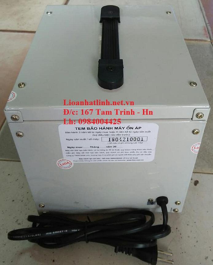 PHÍA SAU ỔN ÁP LIOA 1KVA DRI - 1000 II