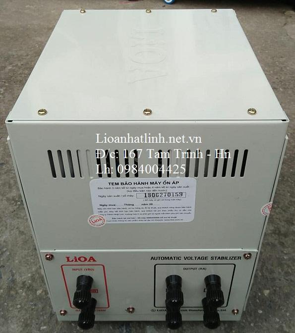 PHÍA SAU ỔN ÁP LIOA 3KVA SH - 3000