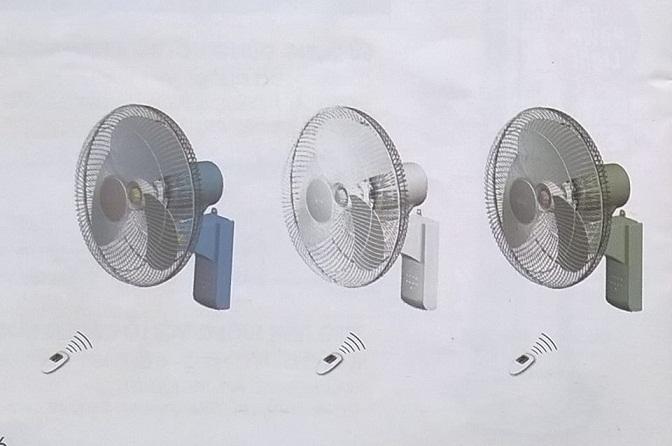 quạt điện dân dụng treo tường lioa