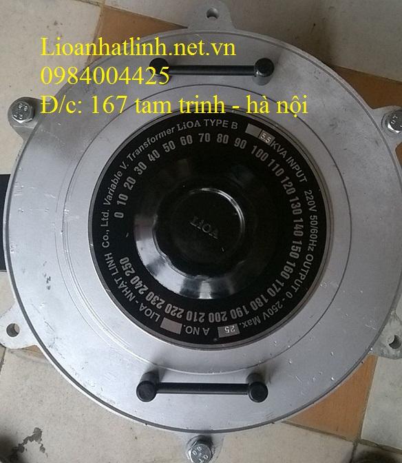 biên áp vô cấp 1 pha lioa 5kw