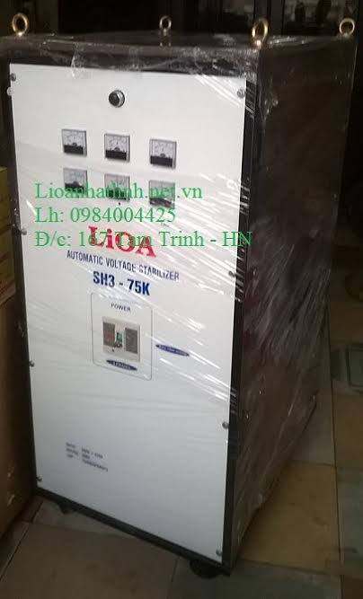 LIOA 75KVA 3 PHA