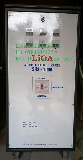ỔN ÁP LIOA 100KVA 3 PHA MODEL SH3 - 100K NĂM 2016