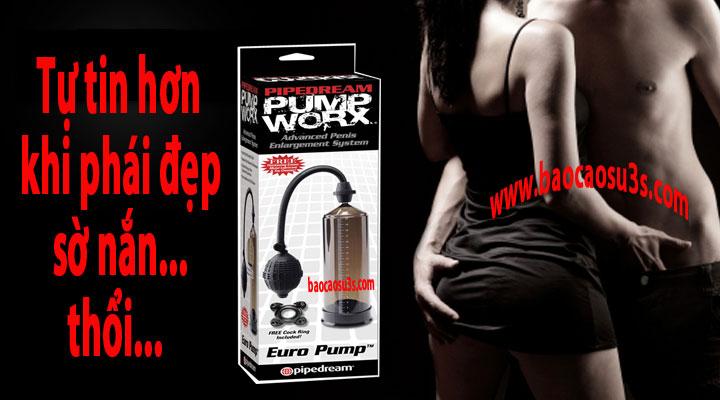 Pump worx máy làm to dài dương vật cho nam giới