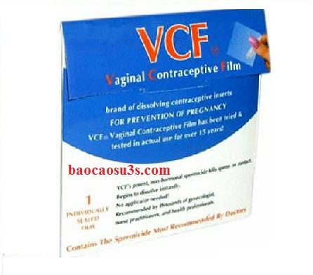 Màng phim tránh thai VCF