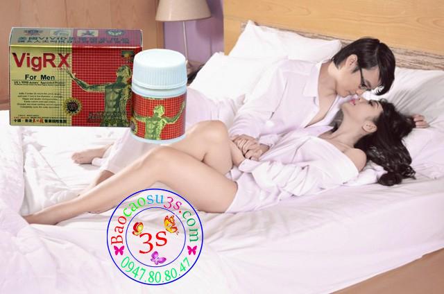 thuốc uống tăng cường cương dương, kéo dài thời gian quan hệ Vigrx formen