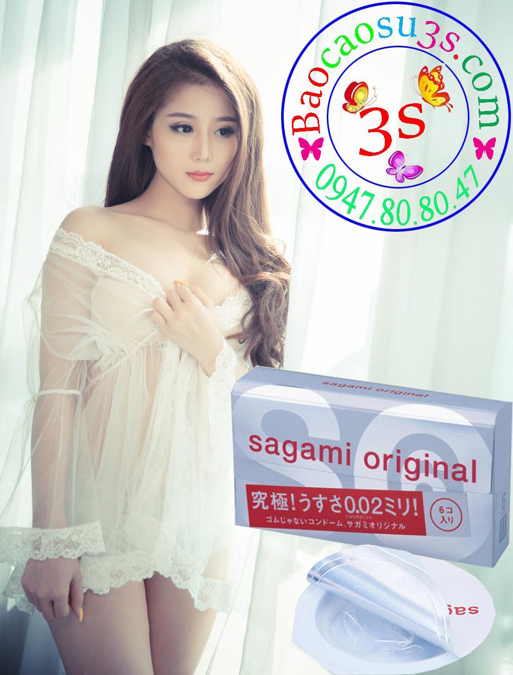 Bao cao su Sagami Original 0.02 mỏng nhất thế giới