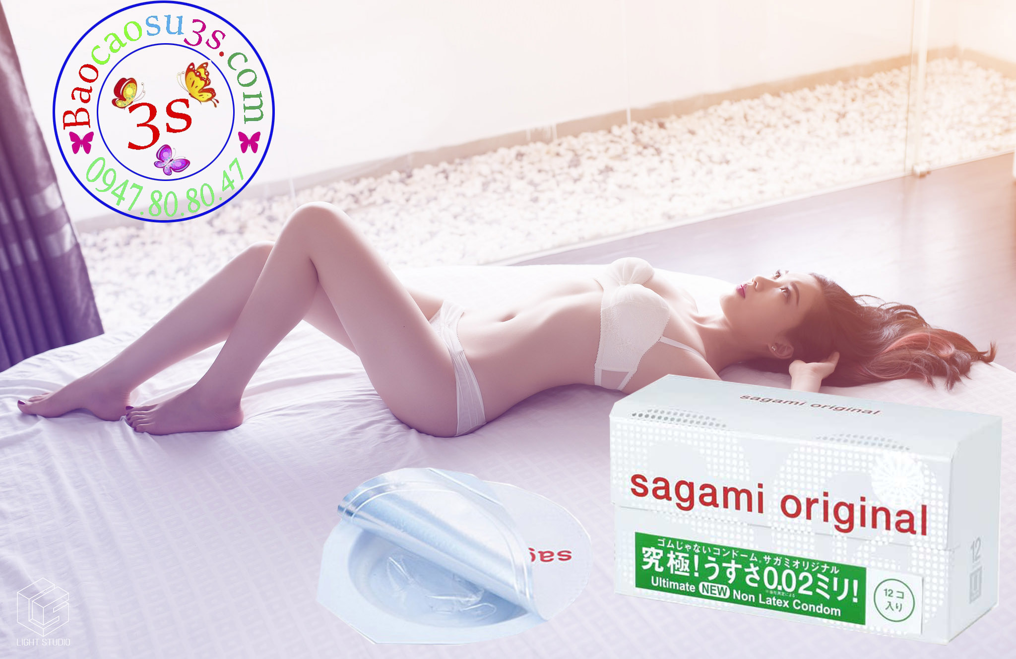 Bao cao su siêu mỏng chống dị ứng sagami original 0.02