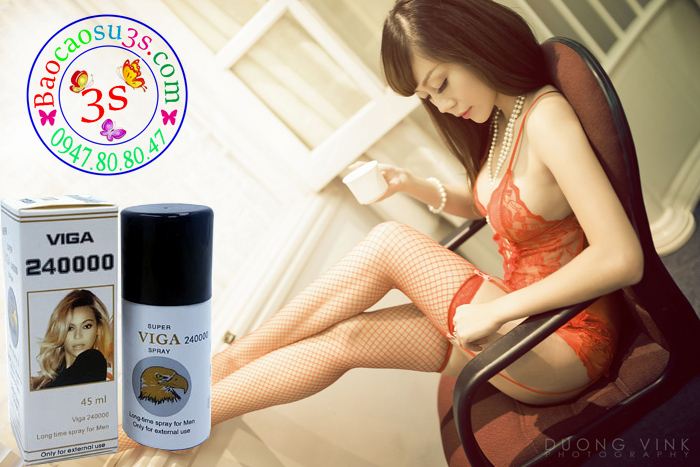 Super Viga 240000 Spray chứa vitamin E