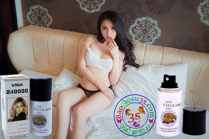 Thuốc xịt chống xuất sinh sớm cao cấp Super Viga 240000 Spray