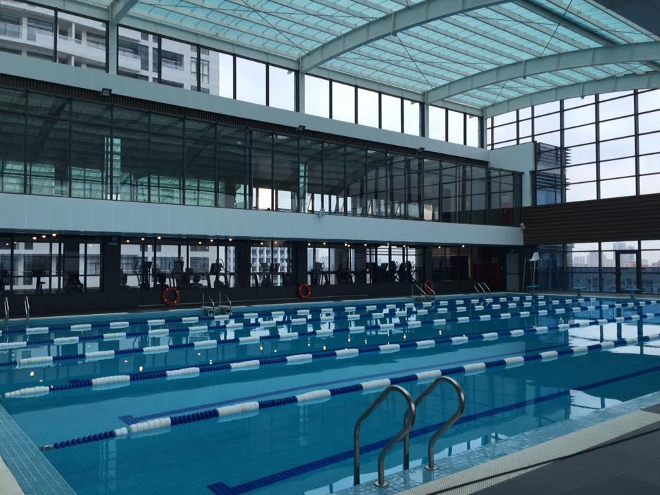 bể bơi dự án Tràng An Complex
