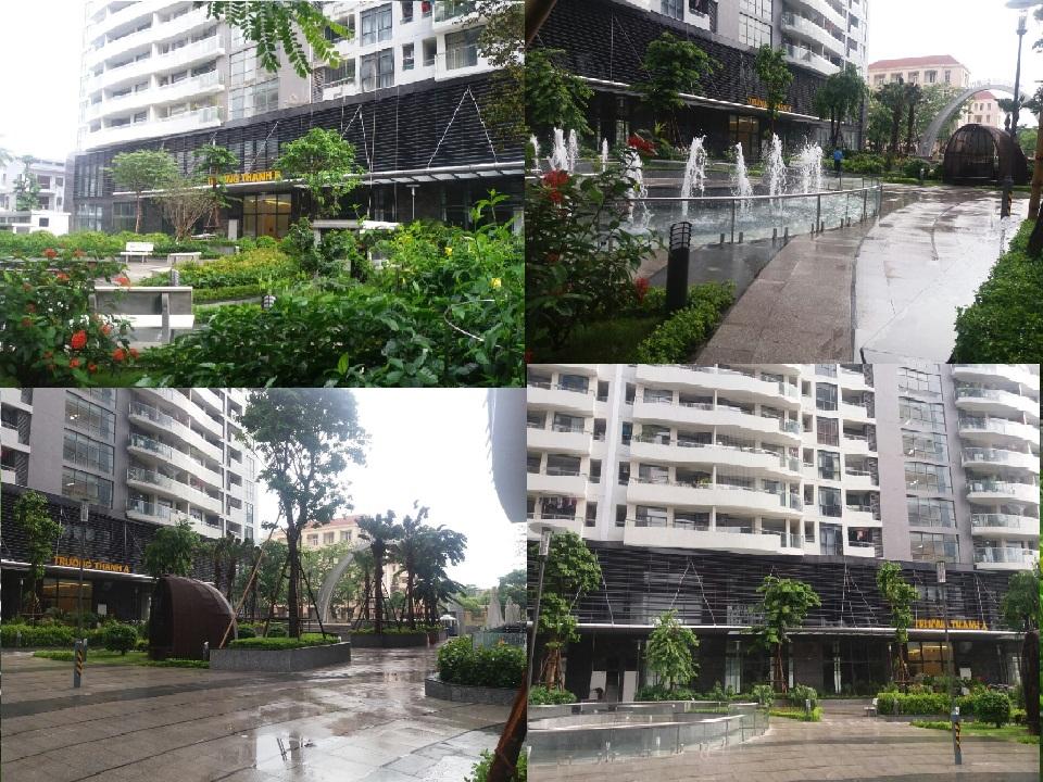 Một số hình ảnh khu chung cư tràng an complex