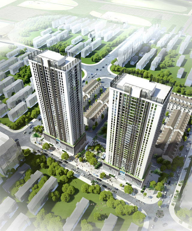 Chung cư - Liền kề A10 Nam Trung Yên