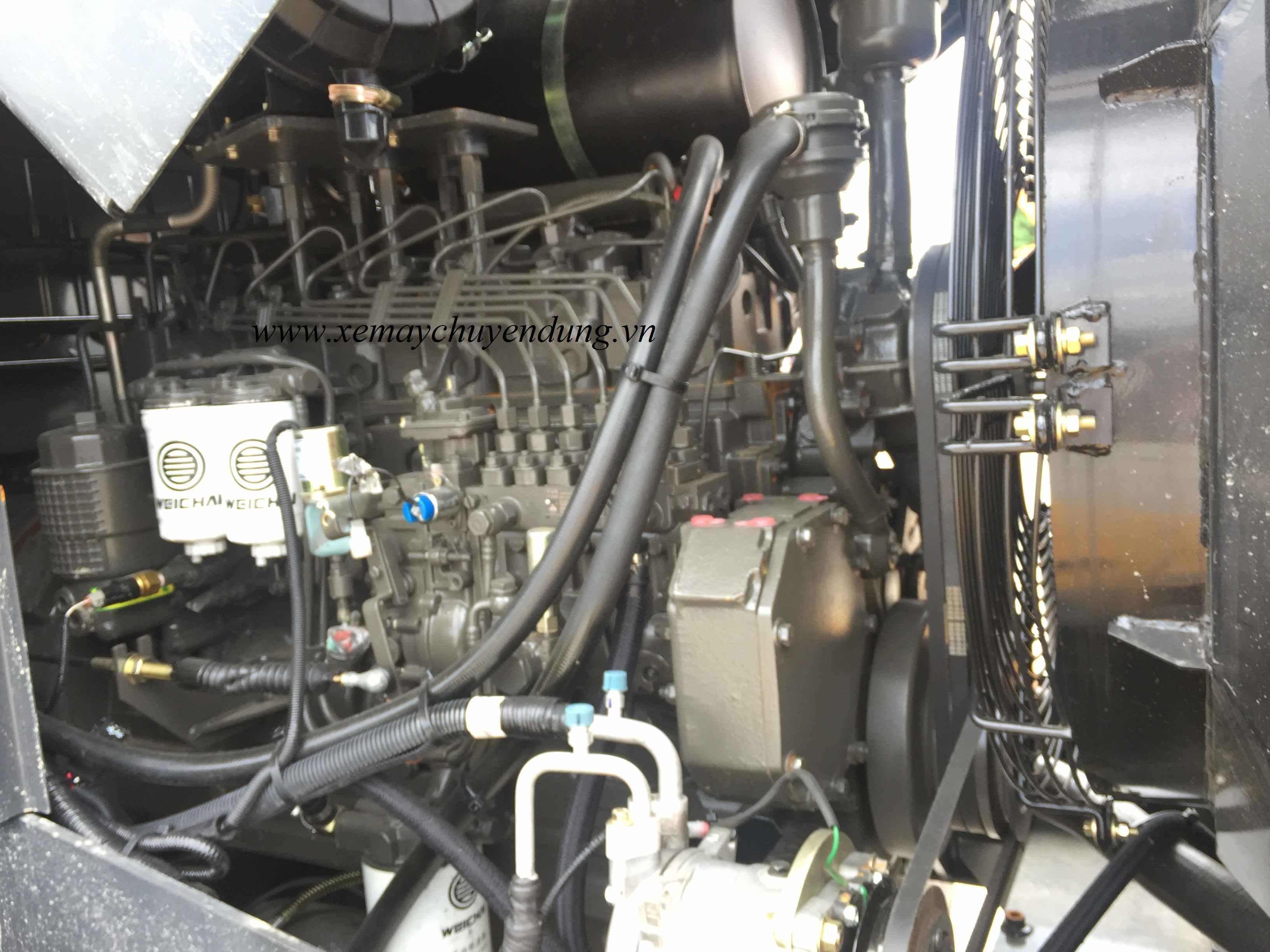 động cơ máy xúc lật liugong 835H