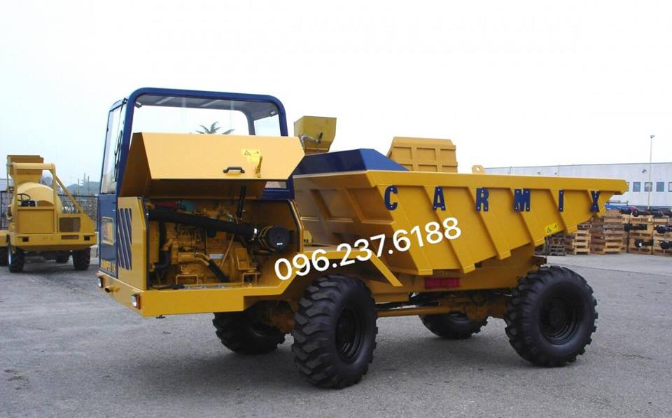 Xe tải chạy mỏ Carmix D6 Italia
