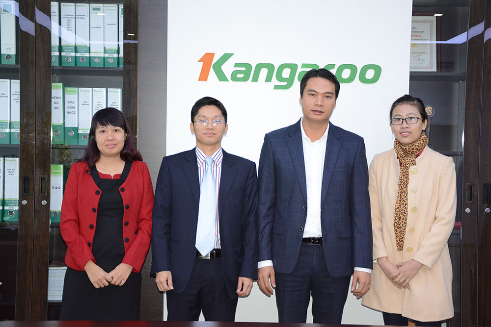 Kangaroo Hà Nội chúc mừng sinh nhật TGP Nguễn Thành Phương