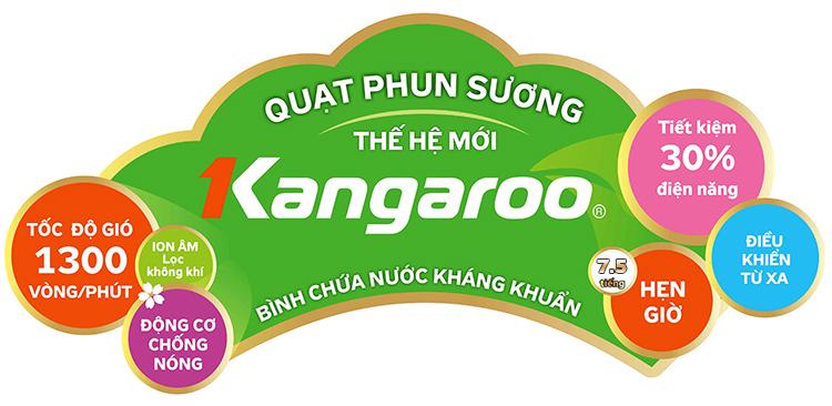 quạt phun sương kangaroo