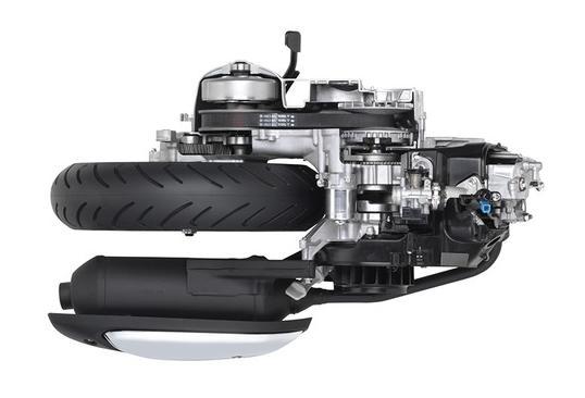 Động cơ mới của Yamaha, Yamaha Blue Core Engine, Nozza Grande,