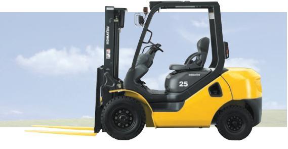 xe nâng dầu mới Komatsu 3 tấn