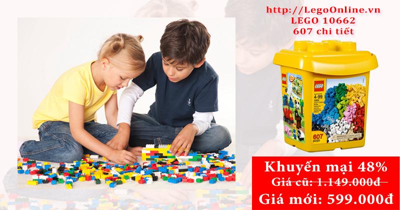 Lego Online khuyến mại trung thu 2014 bộ lego 10662 giao hàng miễn phí tại Hà nội