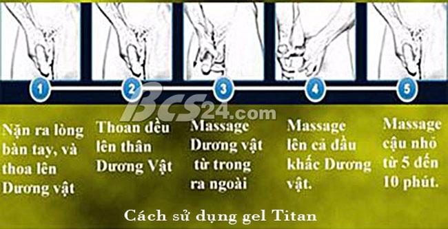 sử dụng titan gel như thế nào