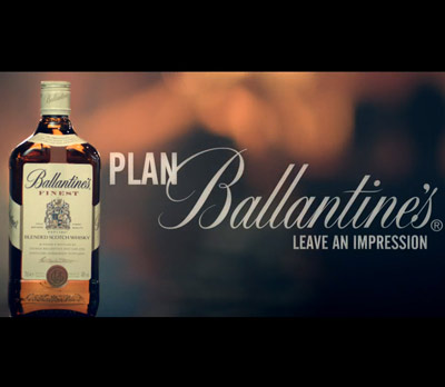 giá rượu ballantine's finest