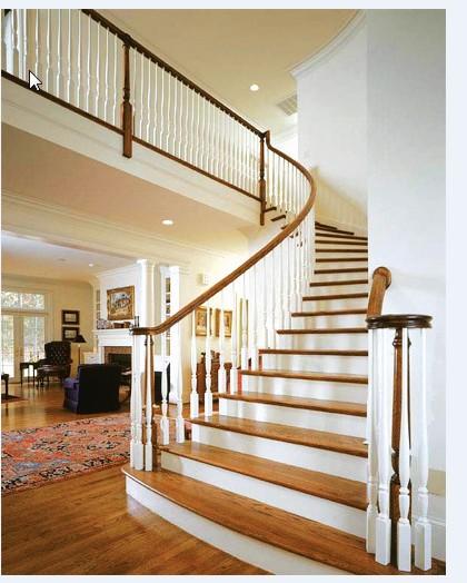Cầu thang đẹp dành cho nhà nhỏ - Những mẫu cầu thang đẹp cho nhà nhỏ đẹp hơn