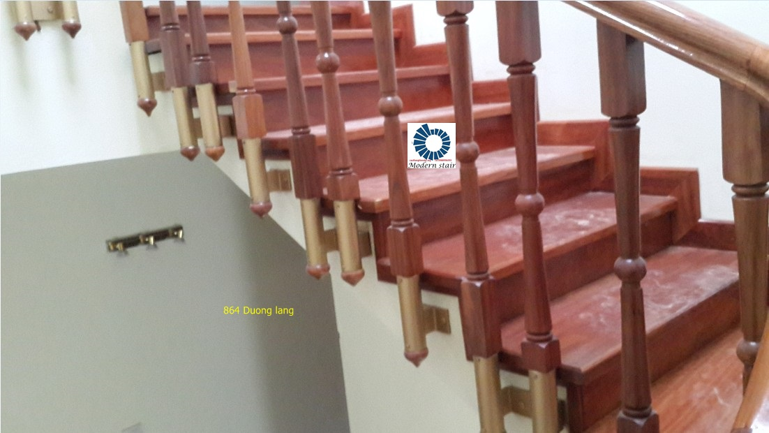 cầu thang gỗ,cau thang go