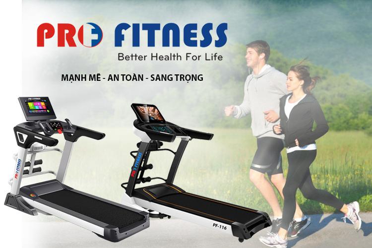 Máy chạy bộ điện Pro Fitness