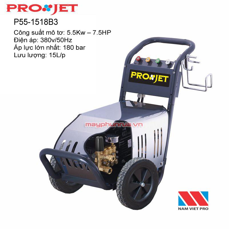 Máy rửa xe cao áp P55-1518B#