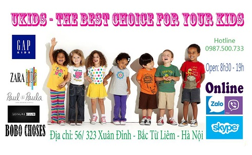 bán buôn quần áo trẻ em