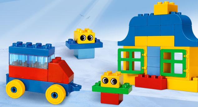 Đồ chơi LEGO Creative Bucket - 76pcs