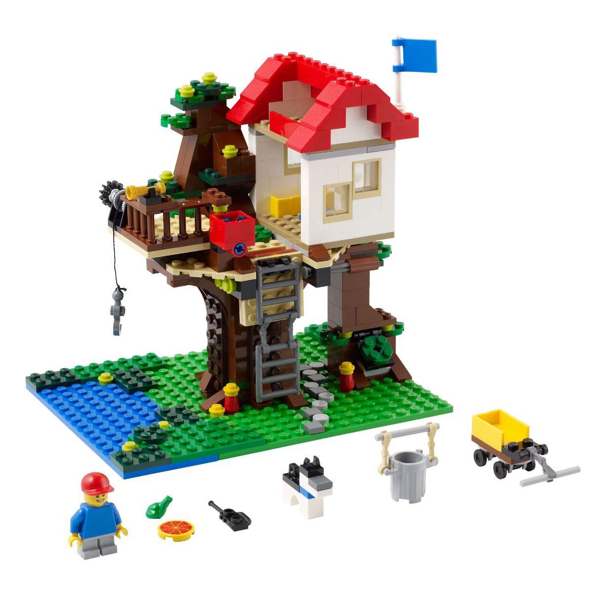 Đồ chơi LEGO 31010 - Xếp hình ngôi nhà trên cây