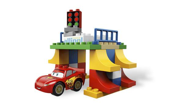 Đồ chơi xếp hình Lego Duplo 5819 - Đường đua Tokyo