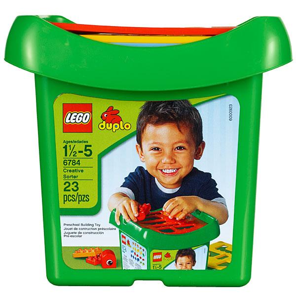 Đồ chơi xếp hình Lego Duplo 6784 - Phân loại sáng tạo