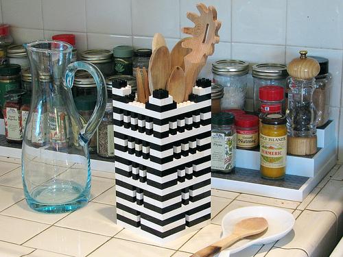đồ dùng nhà bếp từ Lego