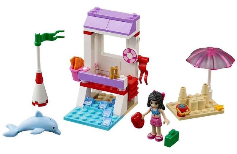 đồ chơi lego 41028 chòi cứu hộ của emma