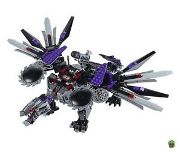Đồ chơi Lego Ninjago 70725 - Rồng Máy Nindroid