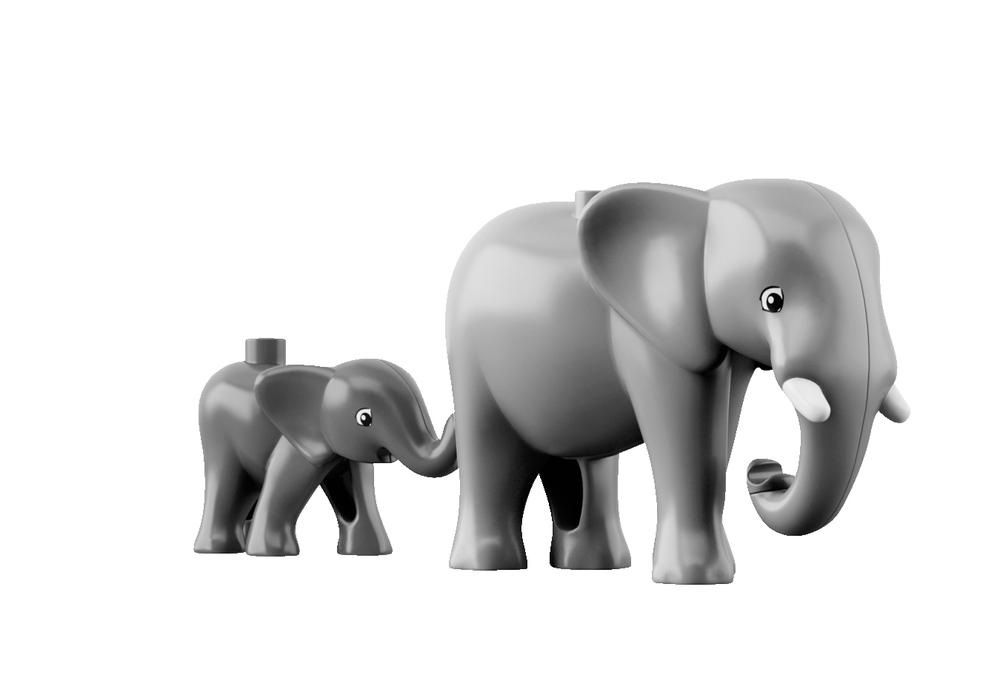 Lego Duplo 6156 - Chụp ảnh thế giới hoang dã