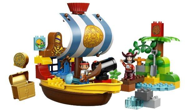 Video bé chơi đồ chơi xếp hình LEGO 10514