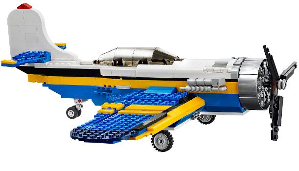 Bộ Đồ chơi LEGO 31011 - xếp hình máy bay thám hiểm