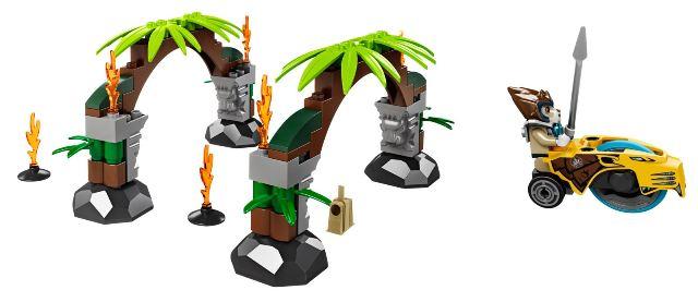 Đồ chơi LEGO 70104 - Xếp hình Cổng rừng bí ẩn