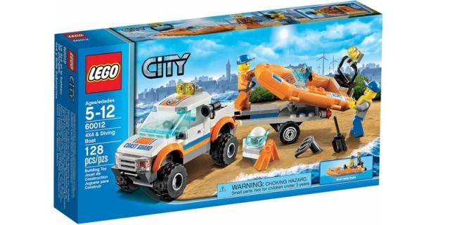 Đồ chơi Lego 60012 - Xe chở Cano