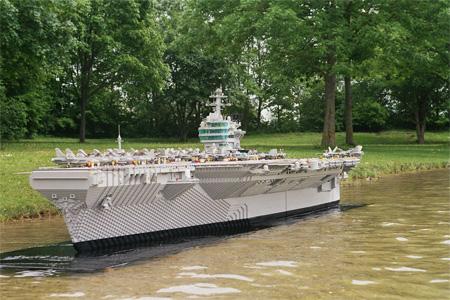 tàu đẹp từ lego